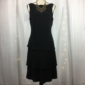 Evan-Picone LBD! Tiered w/Swag Back Detail Sz 14
